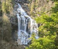 Caídas superiores de Whitewater en Carolina del Norte fotografía de archivo