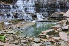 Caídas y rocas de Albion Fotos de archivo
