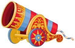 cañón stock de ilustración