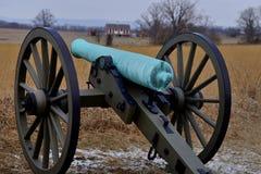 Cañón de Gettysburg foto de archivo libre de regalías