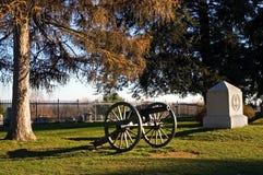 Cañón de Gettysburg - 5 imagen de archivo libre de regalías