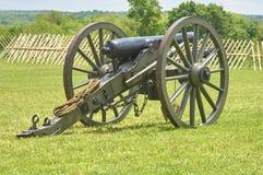 Cañón de la guerra civil imagen de archivo libre de regalías