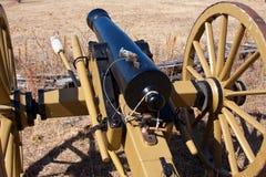 Cañón de la guerra civil fotos de archivo
