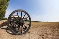 Cañón de la guerra civil foto de archivo