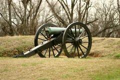 Cañón de la guerra civil de la unión Foto de archivo libre de regalías