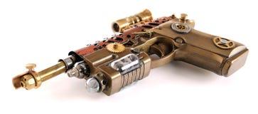 Cañón de la mano de Steampunk Imagen de archivo libre de regalías