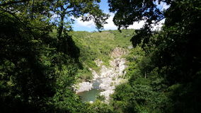 Cañón de Somoto. Lookout at the Cañón de Somoto in Nicaragua stock image