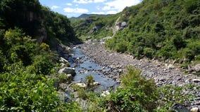 Cañón de Somoto. River at Cañón de Somoto in Nicaragua royalty free stock image
