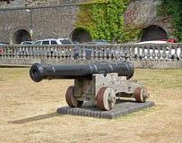 Cañón del castillo Fotos de archivo