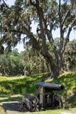 Cañón del período de la guerra civil Imagenes de archivo