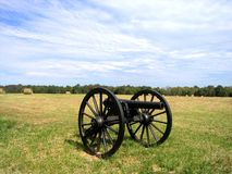 Cañón en Chickamauga Foto de archivo libre de regalías