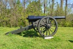 Cañón en Vicksburg Imagen de archivo