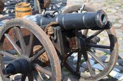 Cañón histórico Fotos de archivo