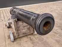 Cañón naval antiguo Fotos de archivo libres de regalías