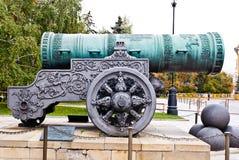 Cañón ruso del zar foto de archivo