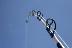Caña de pescar Fotografía de archivo