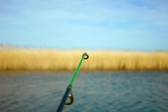 Caña de pescar Foto de archivo