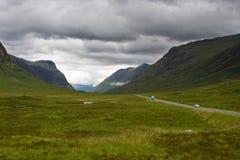 Cañada Coe, Escocia Foto de archivo