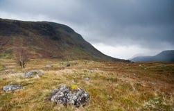 Cañada escocesa al lado de la fortaleza Guillermo, Escocia Imagen de archivo libre de regalías