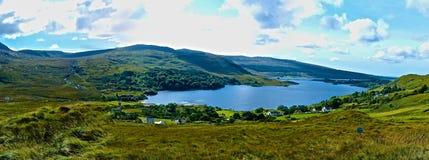 Cañada y lago envenenados Dunlewey Imagen de archivo