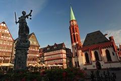 Cañería histórica de Francfort, Alemania Imágenes de archivo libres de regalías