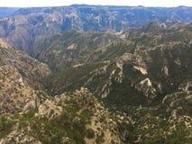 Cañon del cobre. Landscape in Chihuahua México royalty free stock photos