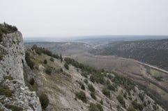Cañon del rio lobos. In Soria, Spain stock photography