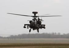 Cañonera del helicóptero de Apache Fotografía de archivo