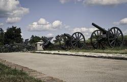 cañones Fotografía de archivo