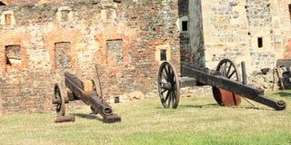 cañones Imagen de archivo libre de regalías