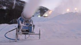 Cañones de la nieve metrajes