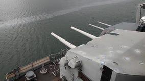 Cañones de USS Missouri metrajes