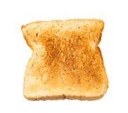 Całej banatki chleb odizolowywający na bielu Zdjęcia Royalty Free