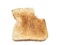 Całej banatki chleb odizolowywający na bielu fotografia royalty free