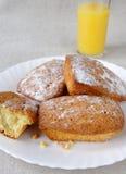 całkiem soku muffins pomarańcze smakowita Fotografia Stock