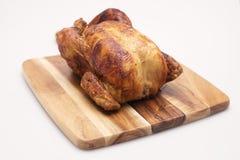 Całość Gotującego kurczaka Fotografia Royalty Free