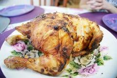 Całość Piec kurczaka Zdjęcia Royalty Free