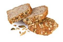 Całość zbożowego chleba Obrazy Royalty Free
