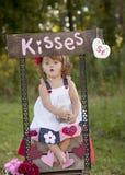 Całowania budka obraz stock