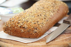 cały zbożowy chleb świeże Obrazy Stock