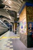洛杉矶, CA 地铁普遍性城市 图库摄影