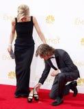 03 07 12 ca ceremonii sławy szczęścia h Hollywood huffman macy gwiazdy chodzą William macy Obrazy Royalty Free