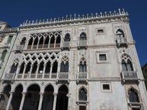Ca D Oro i Venedig Fotografering för Bildbyråer