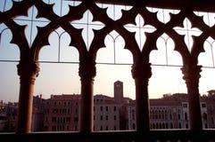 Ca D'Oro - palacio de oro Foto de archivo