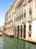 Ca d'Oro in Venedig Stockbild