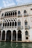 Ca' d'Oro, Venice. Famous Ca' d'Oro palace facade on Grand Canal, Venice, Italy Royalty Free Stock Photography