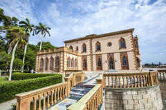Ca d'Zan is an elaborate Venetian-style villa modeled in part af Stock Images