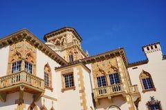 Ca d Zan na słonecznym dniu Fotografia brać w Sarasota Floryda Fotografia Royalty Free