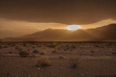 CA-Death Valley National Park. These images were captured while on the road leading from The Racetrack area Stock Photography
