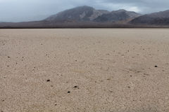 CA-Death Valley National Park-The Racetrack Royalty Free Stock Photo